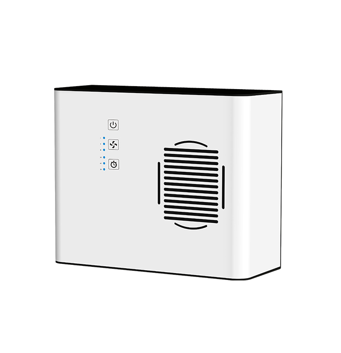 B-626L: Small Room and Ionisier Air Purifier with 4 Speeds Setting