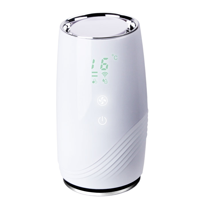 B-D01H: Air Purifier with HEPA and Carbon Filter for Allergen and Odor Reduction